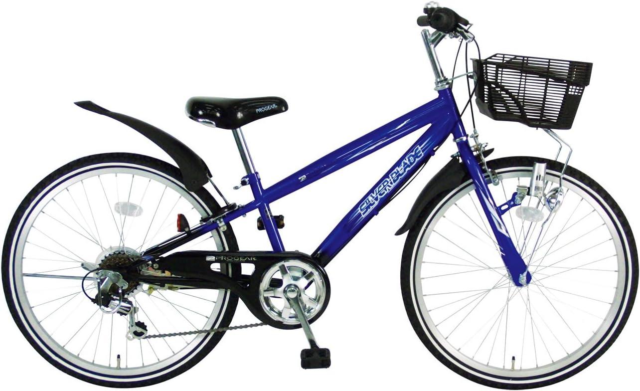 C.Dream(シードリーム) シルバーブレイド CTB26 22インチ 男の子向 子供自転車 ブルー 100%組立済み発送