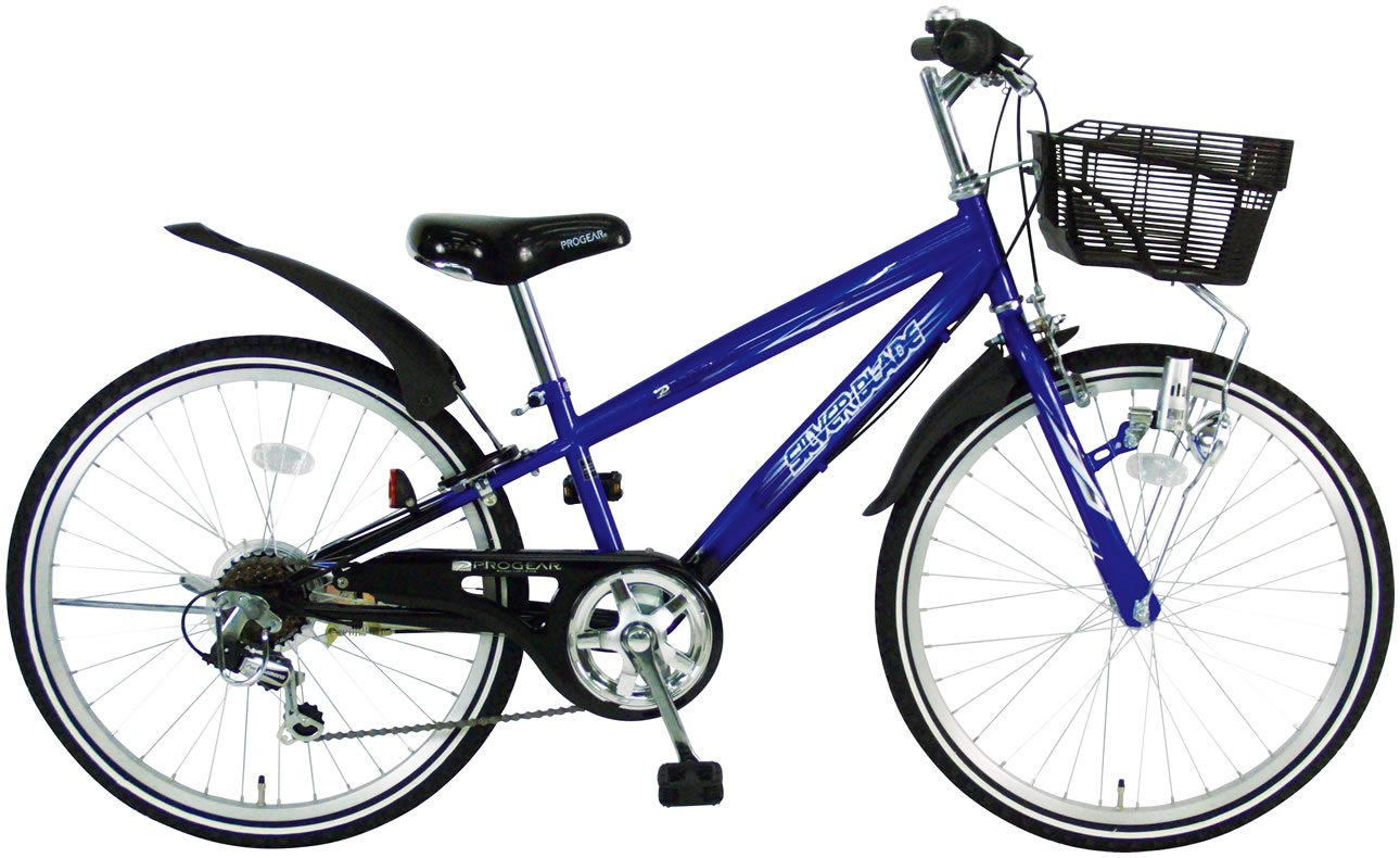 C.Dream(シードリーム) シルバーブレイド CTB46 24インチ 男の子向 子供自転車 ブルー 100%組立済み発送   B014SNIBTQ