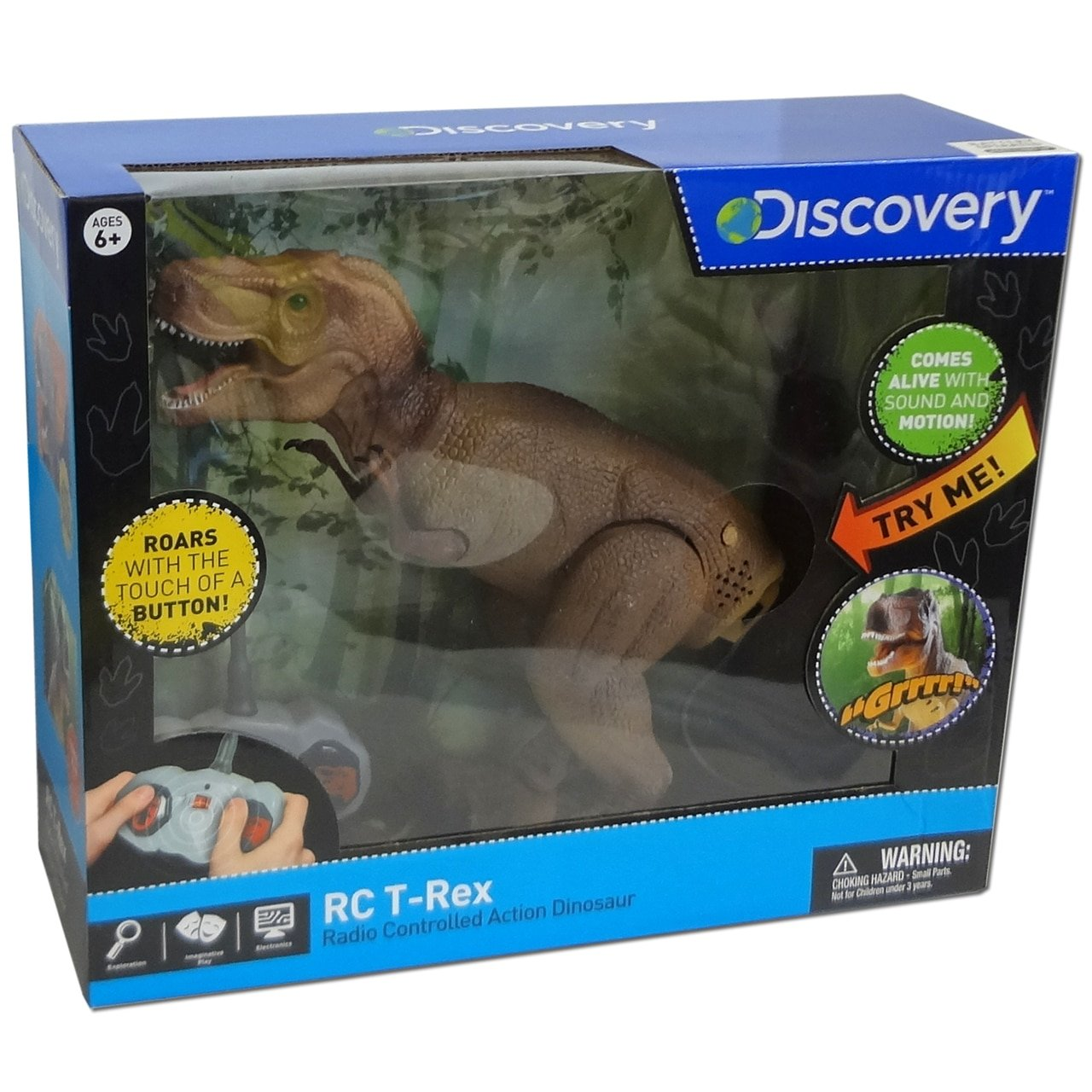 Discovery RC T Rex Radio Controlled Action Dinosaur