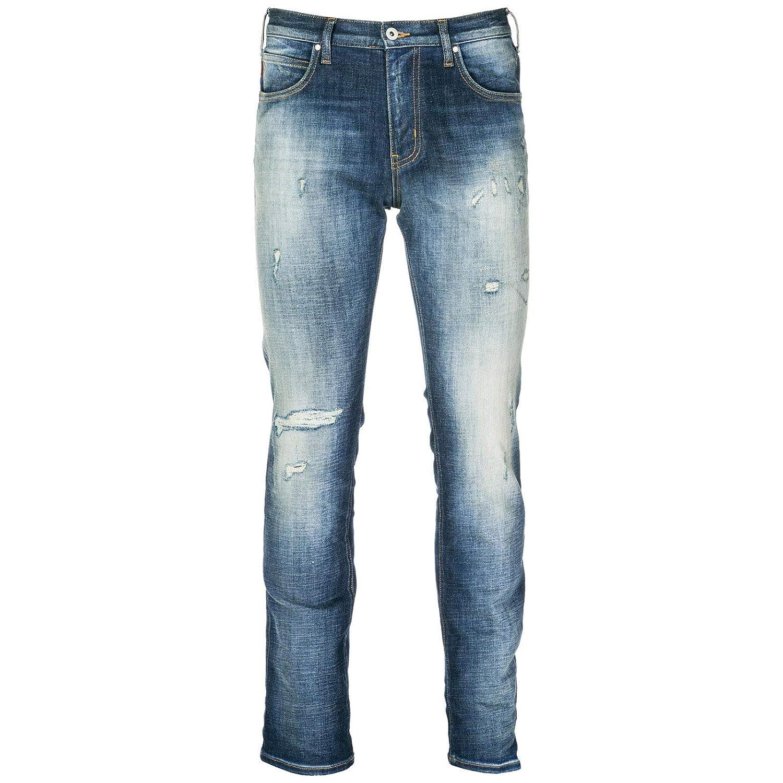 Emporio Armani Vaqueros Jeans Denim de Hombre Pantalones ...