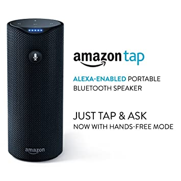 Certified Refurbished Amazon Tap - Alexa-Enabled Portable Bluetooth Speaker