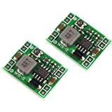 DZS Elec 2pcs MP1584EN Mini 3A DC-DC Buck Converter 4.5V-28V to 0.8V-20V Adjustable Voltage Regulator 24V/12V/9V to 12V/5V/3.