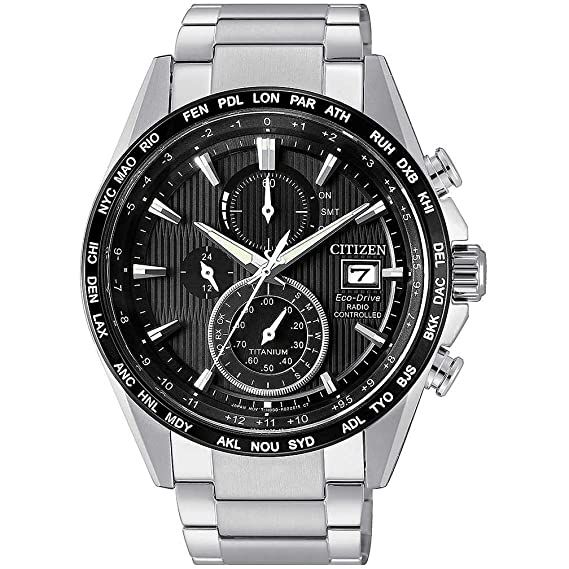 Reloj Citizen AT8154-82E Plata Supertitanium Hombre