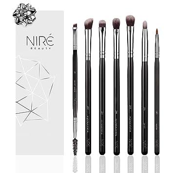 Niré Beauty Augen Makeup Pinselset 7 Makeup Augen Kosmetik Pinsel