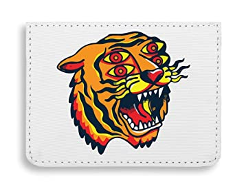 Crazy Tiger Animal Old School Tattoo Collection Vintage ...