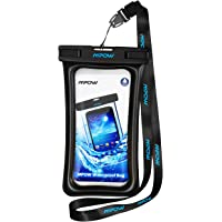 """Mpow Floatable Waterproof Case, IPX8 Waterproof Cell Phone Pouch Underwater Dry Bag Compatible with iPhone Xs/XS Max/XR/X/8/8 Plus/7/7Plus, Galaxy S10/S9/S8 Google Pixel Note up to 6.5"""""""