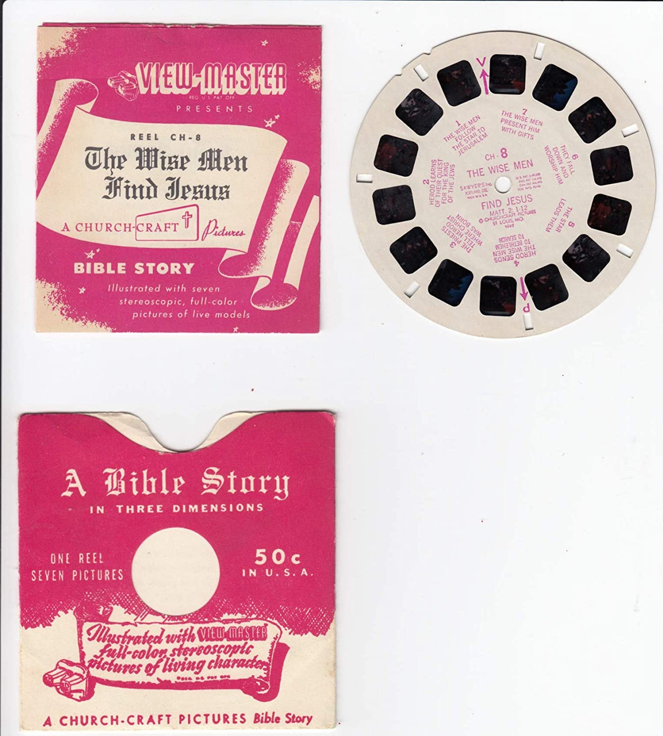 Amazon.com: View Master The Wise Men FIND Jesus A Bible Story in ...