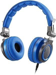 AGPTEK Kids Headphones Over Ear,Wired On-Ear Children Headsets Volume Control & 85dB Volume Limited for Protection, Detachable Cord, Safe Food Grade Material, 3.5mm Audio Jack for Girl Boy, Blue