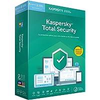 Kaspersky Total Security|2019|5 appareils|2 Années|PC/MAC|Code d'activation - envoi par la poste