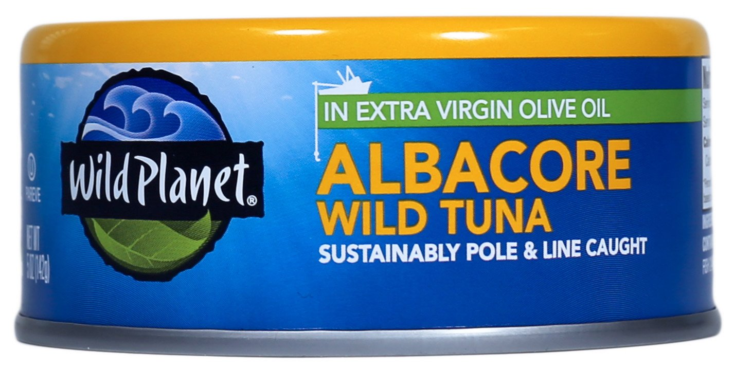 amazon com wild planet wild albacore tuna in extra virgin olive