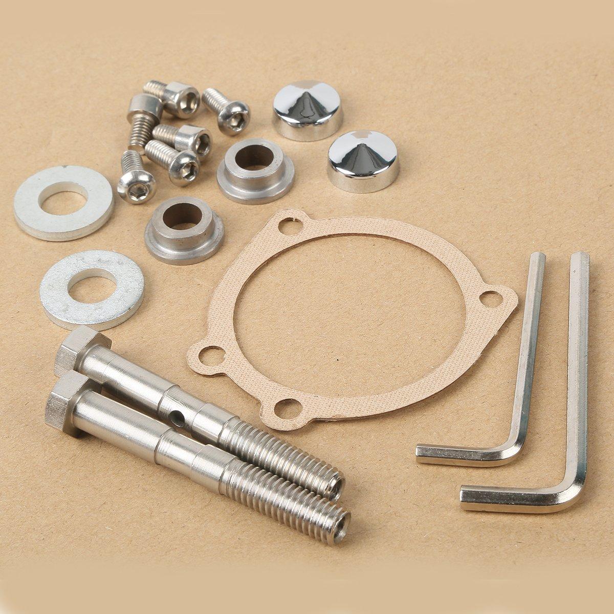 92049-1025 fits 92045-3707 ATVPC Pair of Front Wheel Bearing /& Seal Kits for Kawasaki Mule 2010 2020 2030 3010 2510 2500 2520 3000 4000 4010