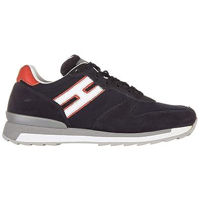 Hogan Rebel Sneakers R261 Uomo Blu 40 EU  Amazon.it  Scarpe e borse a4b9003dc3f