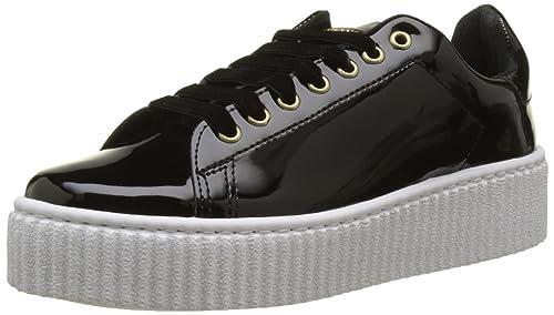 Guess FLDEN3PAT12, Zapatillas Bajas Mujer: Amazon.es: Zapatos y complementos