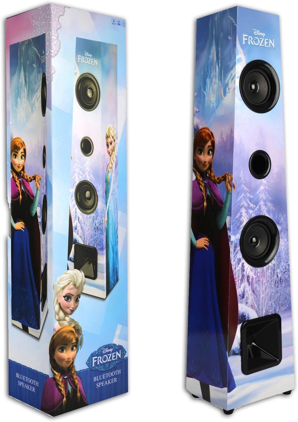 Disney Frozen Bluetooth 2 1 Tower Lautsprecher Kids Wireless Stereo Sound System Spielzeug