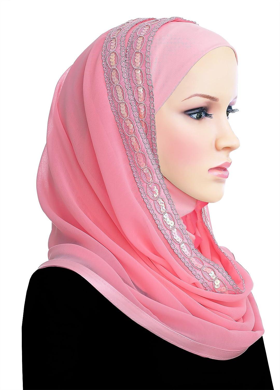 Muslim Women's Luxor Wrap Hijab Kuwaiti Mona