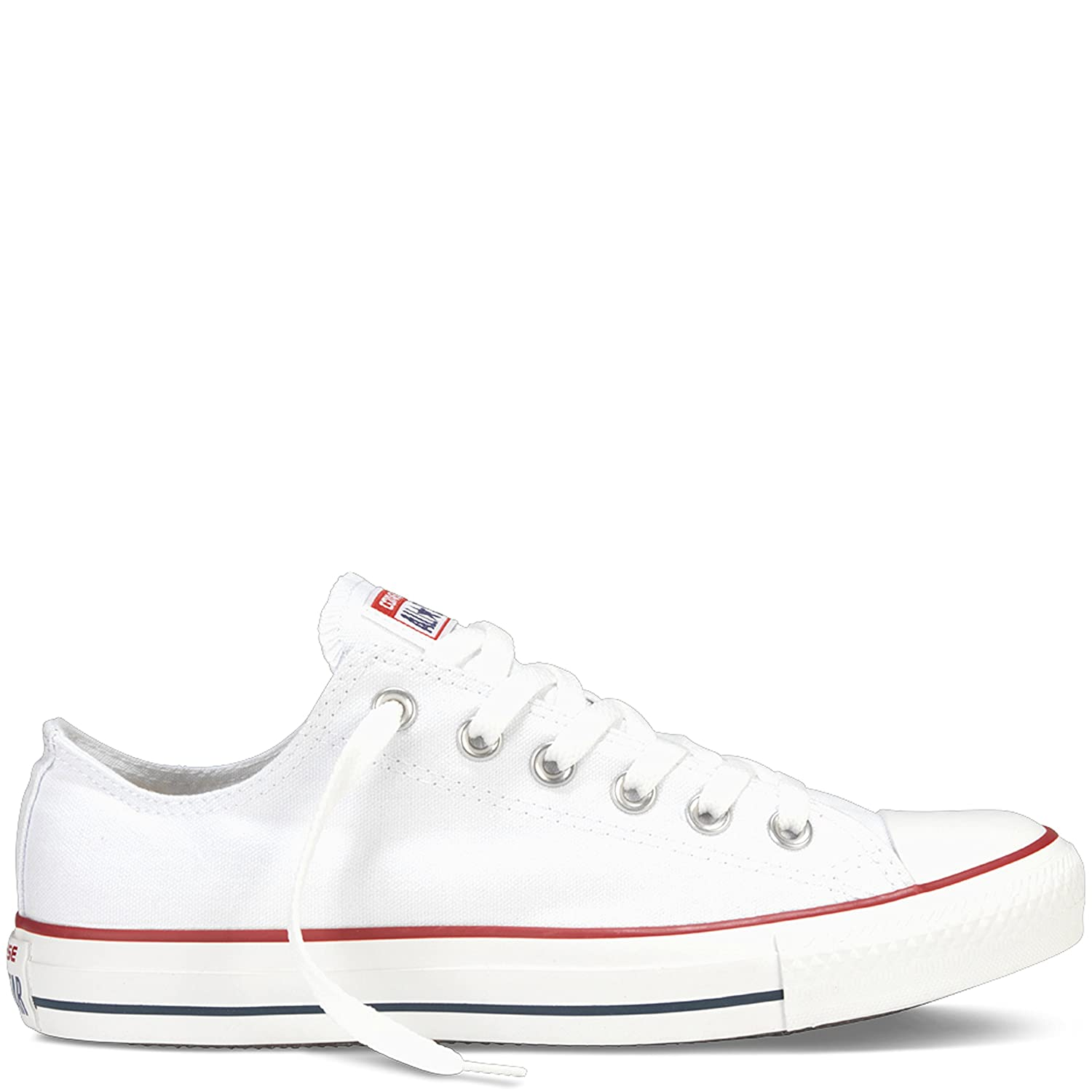 492681a41 Amazon.com | Converse All Star Ox Shoes - White - UK 4 / US Mens 4 / US  Women 6 / EU 36.5 | Fashion Sneakers
