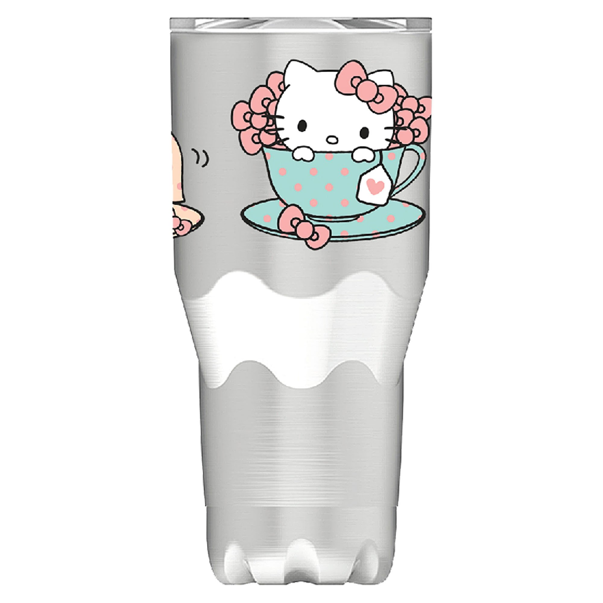 Vandor 18109 Hello Kitty 30 Oz. Stainless Steel Travel Mug, Multicolored
