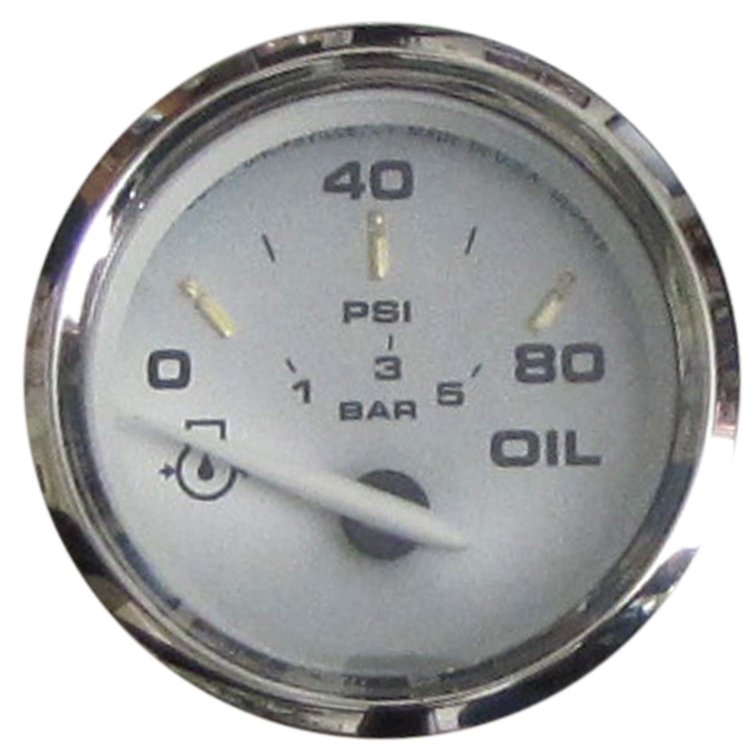Faria One Size 19002 Kronos Oil Pressure Gauge by Faria