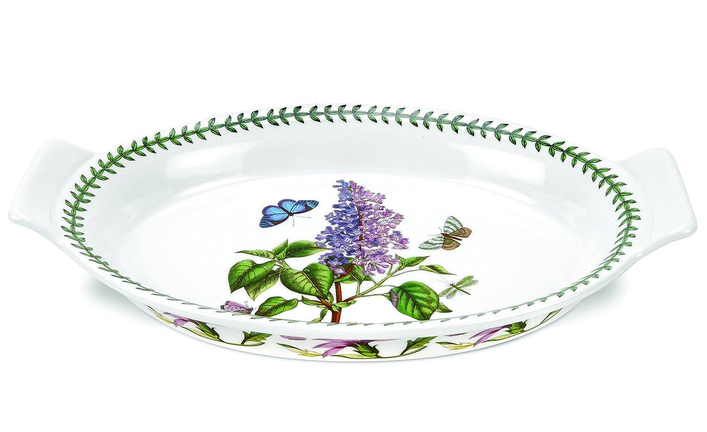 Portmeirion Botanic Garden Oval Gratin Dish, Large Portmeirion USA 521513