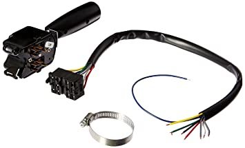 grote wiring color code grote image wiring diagram amazon com grote 48072 black universal 7 wire 4 wire turn signal on grote wiring color
