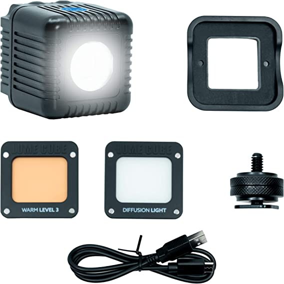 Video Light Content Creation for Photo and Video for Nikon Sony Lume Cube Panel GO DSLR Mount Canon Bicolor LED Light Fuji