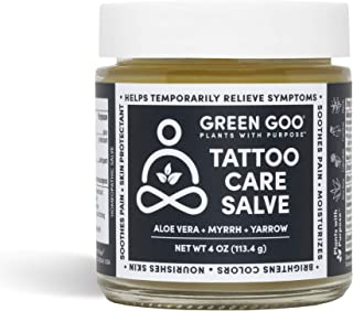 product image for Green Goo Natural Skin Care Salve, Tattoo Care, 4-Ounce Jar