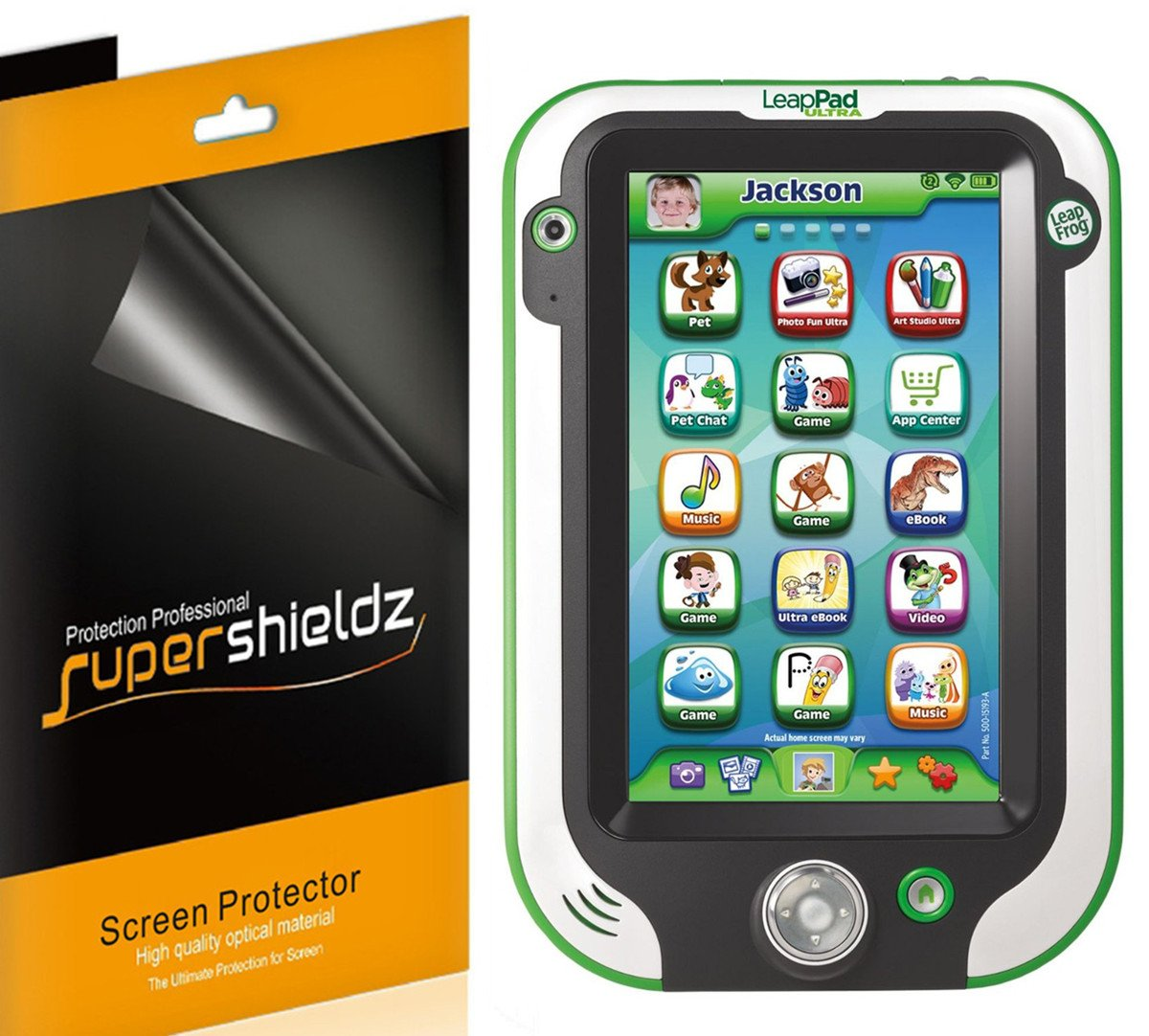 (3 Pack) Supershieldz for Leapfrog Leappad Ultra 7 inch Screen Protector, High Definition Clear Shield (PET)