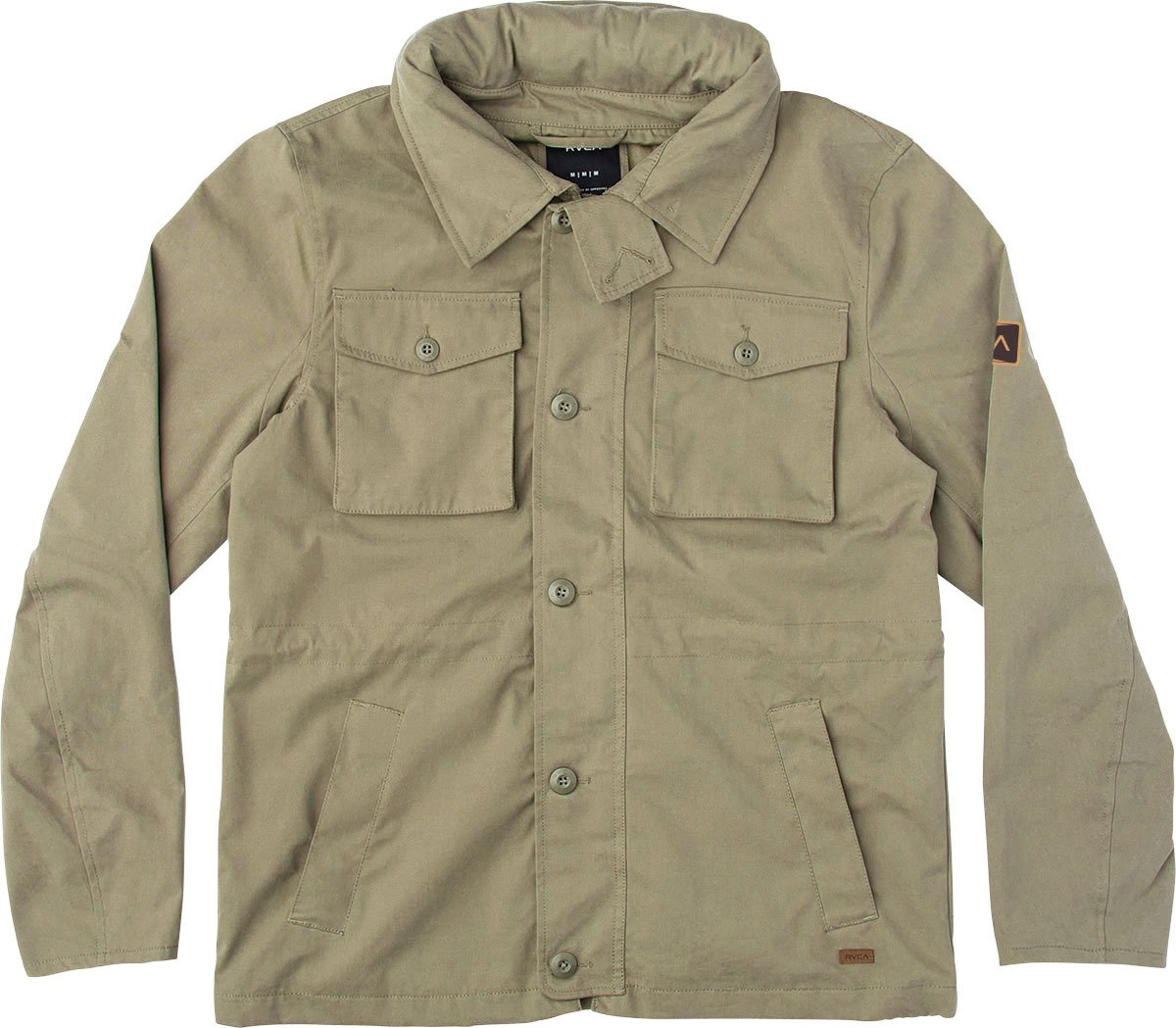 RVCA Men's Systems Field Jacket, Fatigue, Large