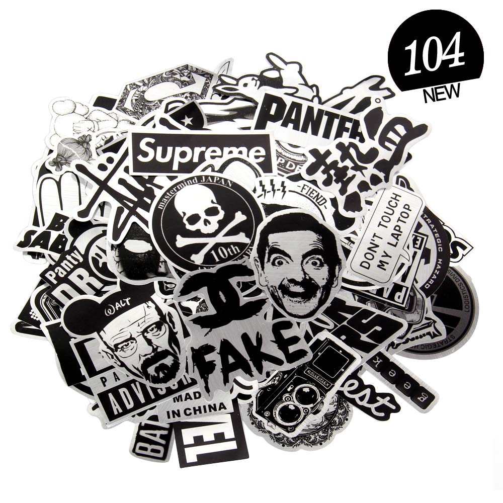 Cool Sticker Pack: Sticker Decals PVC(Vinyl) Stickers Laptop Stickers Unique Cool Designs, for Laptop, Water Bottle, Luggage, Phone,PS4, Xbox, MacBook, Skateboard, Keyboard Decal and More.