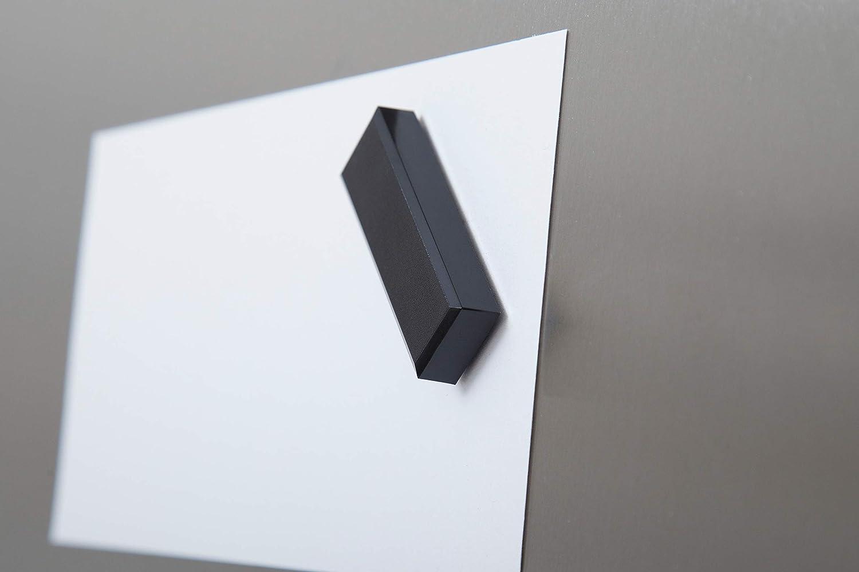 Facetterand Magnete rettangolare MAULpro in plastica infrangibile 1 kg Nero