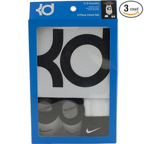 Amazon.com   Nike KD Baby Boys 3pc Bodysuits 6855a86b7b55