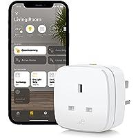 Eve Energy UK - Smart Plug & Power Meter with Built-in Schedules, Voice Control, no Bridge Needed, Apple HomeKit…
