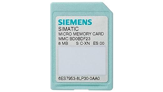 Siemens st70-300c - Tarjeta memoria s7 p/s7-300/c7/et200 3,3v ...