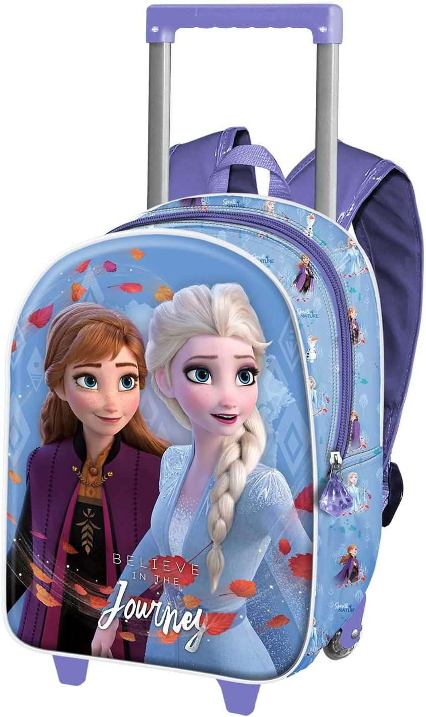 Sac /à dos 28 cm /à roulettes Disney Frozen Awesome Moves Sac /à dos 40521T 40521T