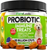 Probiotics for Dogs - Advanced Dog Probiotics Chews with 30 Billion Cfus + Digestive Enzymes - Relieves Dog Diarrhea…