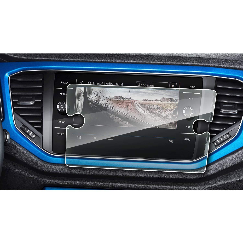 Anti-Kratzer Dicken von 0,25mm Tempered Glass RUIYA Geh/ärtetes Glas Ultra-klar Displayschutz,9H Hartglas f/ür das Navigationssystem von 2017-2018 Volkswagen VW Tiguan II GTE Allspace, - 6.5zoll