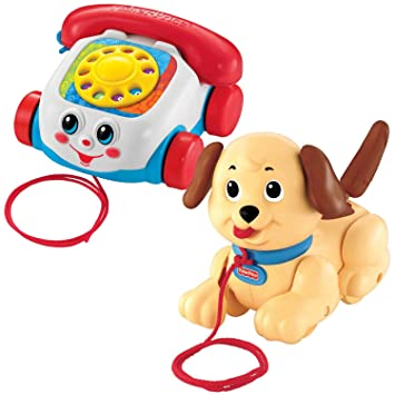 Amazon.com: Fisher Price Classic Pull Juguetes: Baby