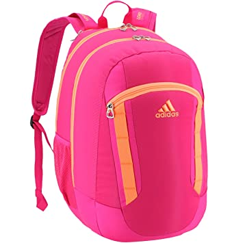 adidas Excel Mochila - 104638, Shock Pink/Flash Orange: Amazon.es: Deportes y aire libre