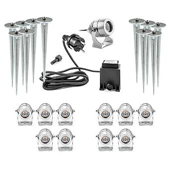 Hochwertige Led Gartenlampen 11er Set 11 Aussenlampen Elektrisch Mit