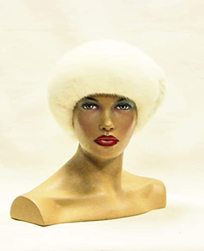 b52869514d552 Image Unavailable. Image not available for. Color  White mink beret