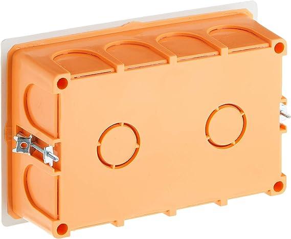FAMATEL 3252 - Caja empotrar pladur 160x100x50 tapa: Amazon.es ...