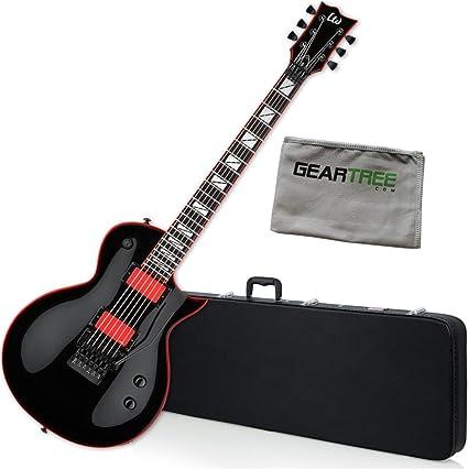 Esp lgh600blk Gary Holt pantalla Blk – Guitarra eléctrica w/gamuza ...