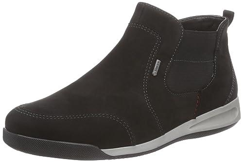 ara ROM-Gore-Tex, Zapatillas Altas para Mujer, Negro-Schwarz (schwarz-01), 43 EU: Amazon.es: Zapatos y complementos