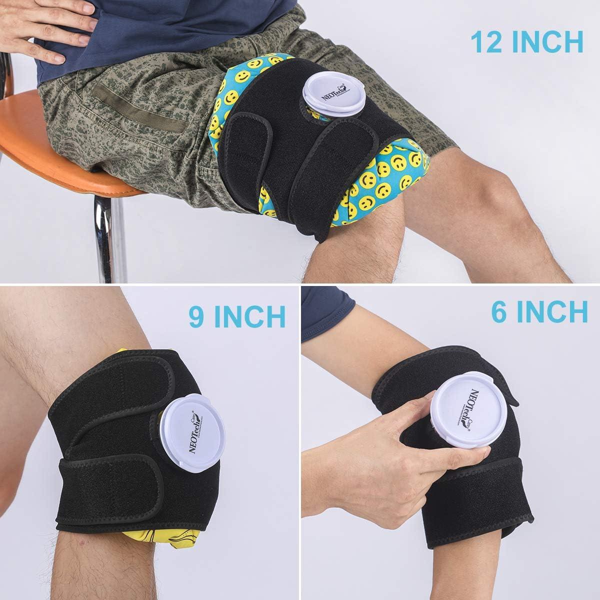 Sangle pour poche /à glace Convient aux vessies /à glacons de marque Neotech Care Bande pour tenir la bouillote deau froide sur la partie du corps