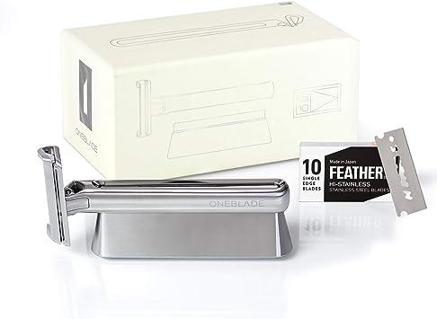 OneBlade Genesis - Cuchilla de afeitar de acero inoxidable ...