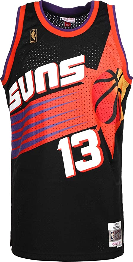 best cheap 132da 3bacb Mitchell & Ness Steve Nash #13 Phoenix Suns 1996-97 Swingman ...