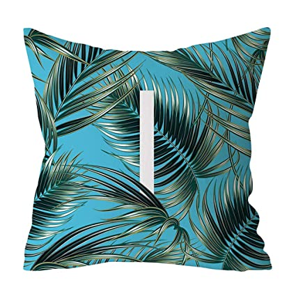 Funda De Almohada LEEDY Fashion Tropical Hoja ImpresióN ...