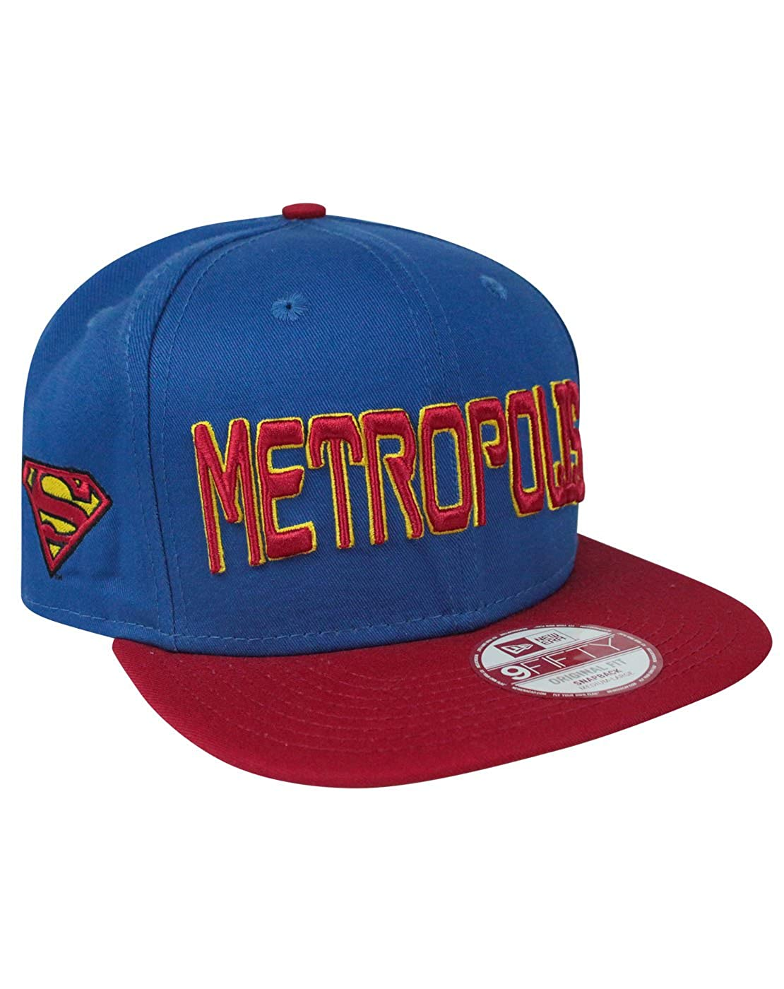 Unisex-Adultos - New Era - Superman - Gorra (S-M): Amazon.es: Ropa ...