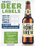 Neato Blank Beer Bottle Labels - Water