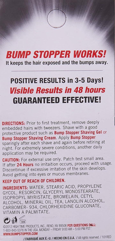 High Time Bump Stopper Sensitive Skin  5 oz  Treatment
